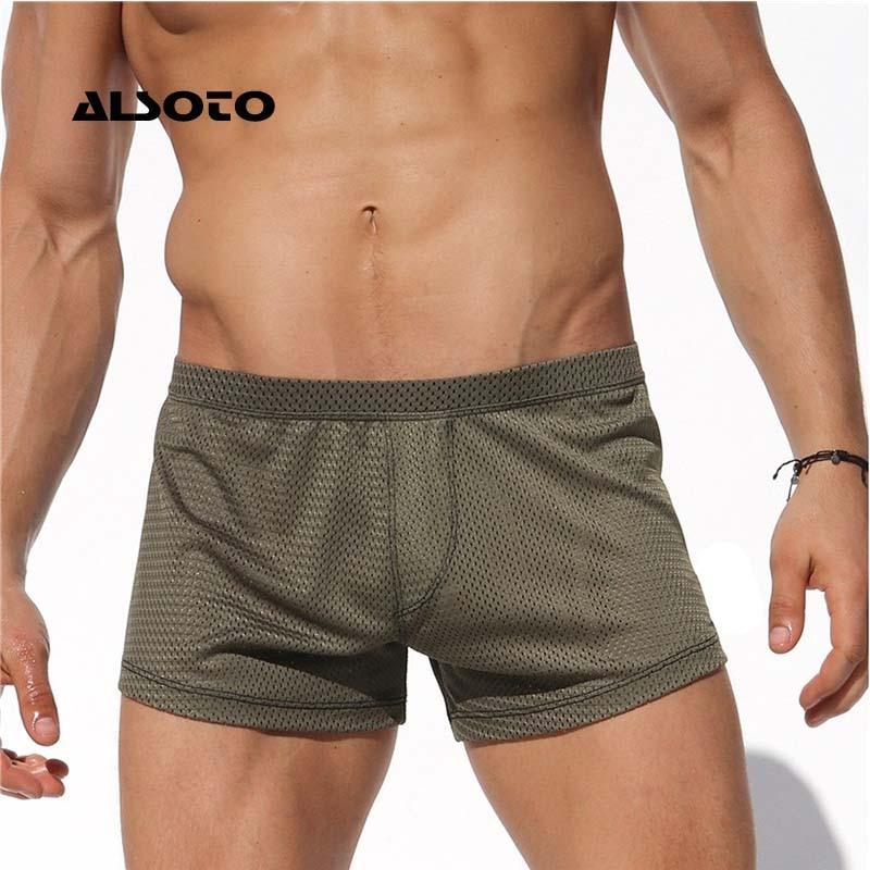 ALSOTO Beach Mens Swimming   Shorts   Homme   Board     Shorts   Breathable Swimwear Men Swimsuit Swim Trunks Surf Briefs   Board     Shorts