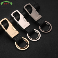 Car Styling Keychain Upscale Auto Metal Men Keyring Key Ring For Subaru Mazda Volvo Nissan Audi