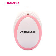 Angelsound Jumper JPD-100smini Fetal Doppler Baby Monitor 3mhz Ultrasound Fetal Heart Monitor Pocket dopplers Earphone USB cable