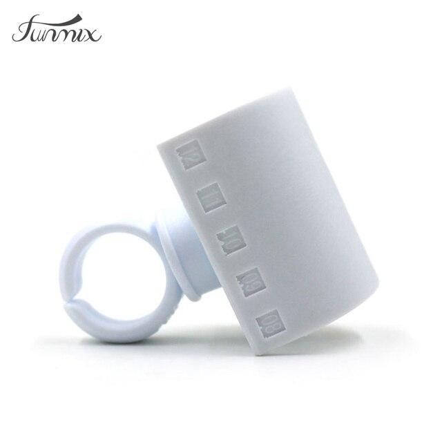Nueva pestaña pegamento anillo adhesivo extensión de pestañas postizas Pallet Set Kit de maquillaje herramienta Mink pestañas