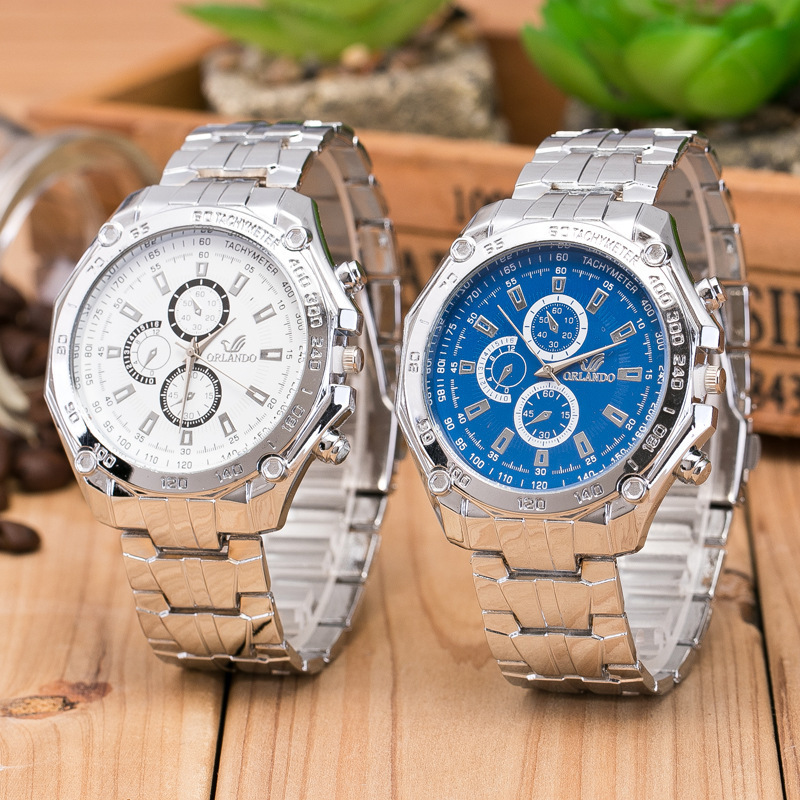 2018 High Quality Popular Men Clock Business Quartz Watch