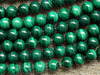 Free Shipping Wholesale 12mm Malachite Stone Round Loose Beads Natural Jewelry Stoe Min Order Is 15