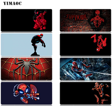 YIMAOC Marvel Spiderman Mouse Pad 30x80 cm Computer Mousepad Anti-slip Natural Rubber Gaming Mat