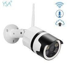 1080 P Wi-Fi IP Камера открытый 2MP HD Wi-Fi дома Водонепроницаемая Камера Безопасности ИК Ночное видение пуля наблюдения 2-способ аудио
