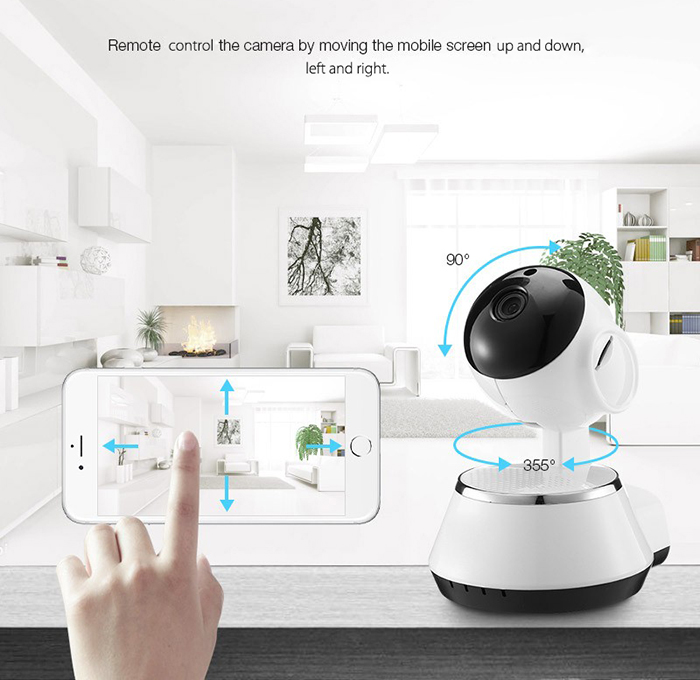 Saful Wifi HD 720P Wireless IP Camera Baby Monitor Support APP Remote Control IR-Cut Surveillance camera home security IP camera hikvision ds 2cd2442fwd iw wifi camera 4mp ir cube wireless ip camera poe ip camera baby monitor wireless security cam