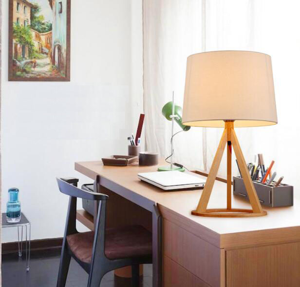 Wooden Table Lamp, LED Desk lights Modern Book Lamps E27 110V 220V Reading Lighting FixtureWooden Table Lamp, LED Desk lights Modern Book Lamps E27 110V 220V Reading Lighting Fixture