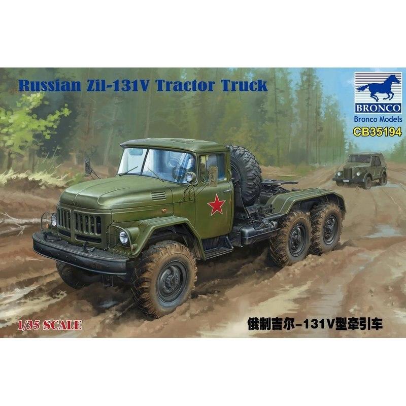 Комплект моделей для тракторов BRONCO CB35194, русская версия, модель для грузовых автомобилей в масштабе, 1/35|Наборы для сборки моделей|   | АлиЭкспресс