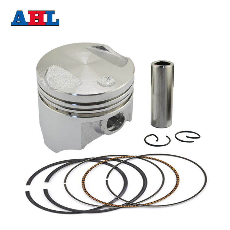 Motorcycle 38 38.25 38.5 38.75 39 mm Piston Rings Kit For <font><b>Honda</b></font> DIO50 AF54 AF55 <font><b>AF56</b></font> AF57 AF61 AF62 Z4 50 NPS50 Zoomer CHF50 image