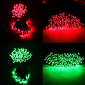 Muiti-color WaterProof Decorations Lights for Gardens Patio Lawn Porch Gate Yard String Lights Party with 100 LED