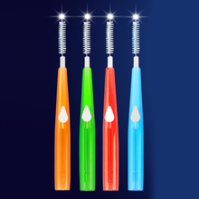 10pcs Adults Interdental Brush Clean Between Teeth Floss Toothpick Plastic Oral Care Tool