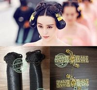 TV Play Legend Of Wu Meiniang Empress Of China Tang Dynasty Palace Maid Servant Hair Wig
