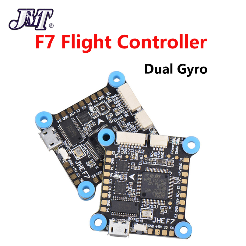 JMT 30.5x30.5mm Dual Gyro F7 F4 Flight Controller AIO OSD 5V 8V BEC & Black Box For RC Drone FPV Racing Quadcopter Accessories