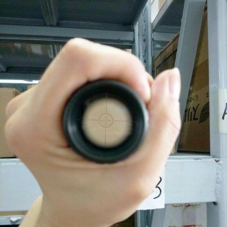 Tactische Optische Sight Scope Geen-Verlichting 4.5X20E Mil Dot een - Jacht - Foto 6