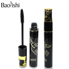 baolishi 3pcs Angels mascara volumizing reviews fiber curling black mascaras urban fashion brand makeup