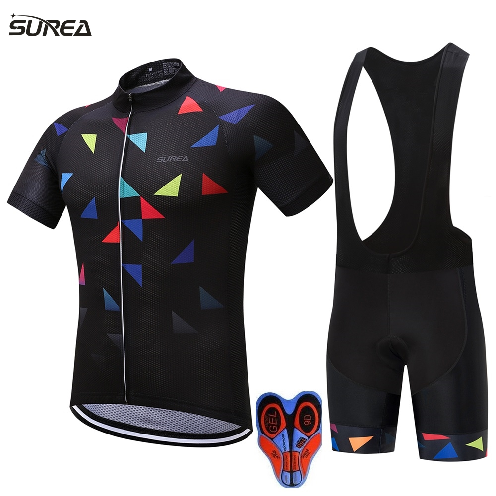 2017 cycling jersey set 8 Styles ropa ciclismo hombre men sport mtb bike jerseys maillot ciclismo bicycle cycling clothing kits 12d pad cycling jersey set bike clothing summer breathable bicycle jerseys clothes maillot ropa ciclismo cycling set