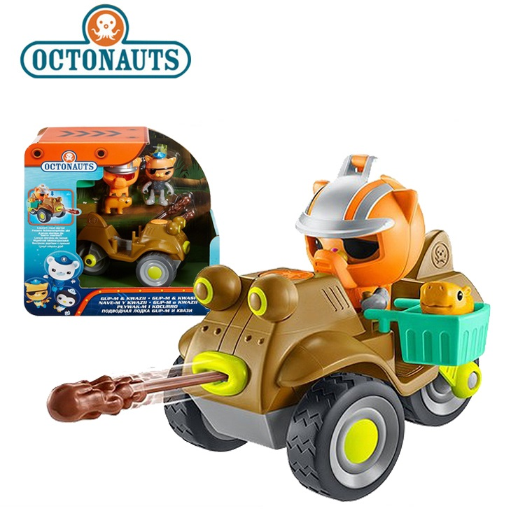 NEW STYLE Octonauts GUP-M Kwazii resure explore vehicle motorcycle figures toy birthday gift - child все цены