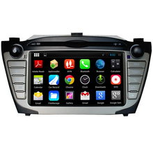1024*600 Quad Core Android 5.1.1 Car DVD For Hyundai IX35 Tucson 2009 2010 2011 2012 2013 2014 2015 Radio GPS Navigation System