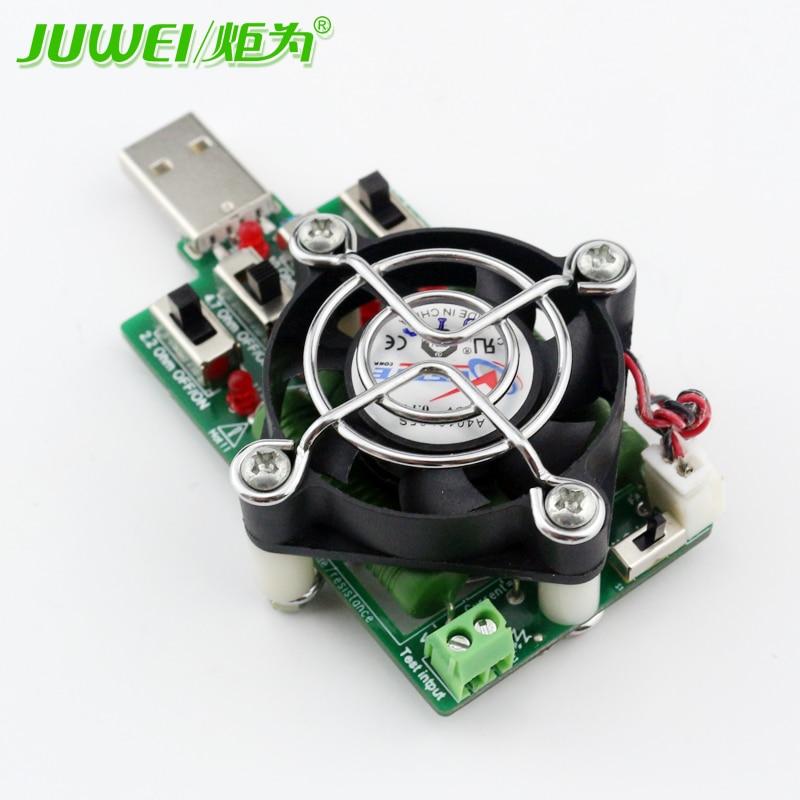Reguleeritav 15 tüüpi praegune USB-koormustakisti elektrooniline - Mõõtevahendid - Foto 4