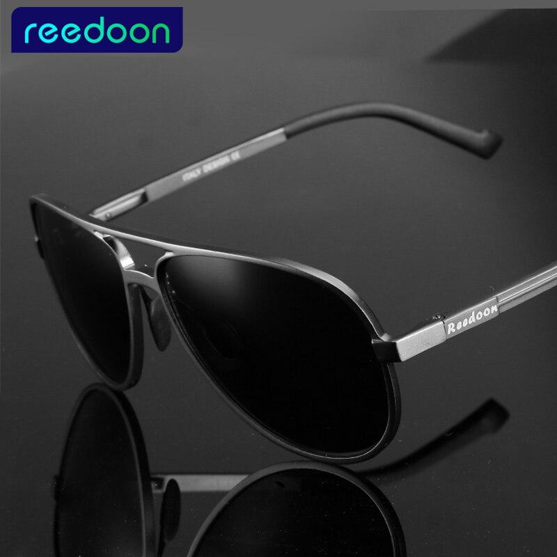 REEDOON Aluminium Magnésium Marque Polarisées lunettes de Soleil Hommes  Nouvelle Conception De Pêche Conduite Lunettes de Soleil Lunettes Oculos  Gafas De Si ... e170103734b5