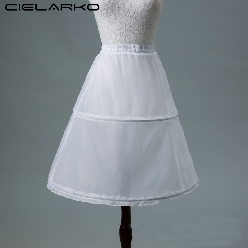 Cielarko Kids Girls Petticoat for Formal Gown White Children ...