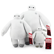 you can choose 18 and 30 and 40CM The big hero 6 Baymax plush dolls Baymax