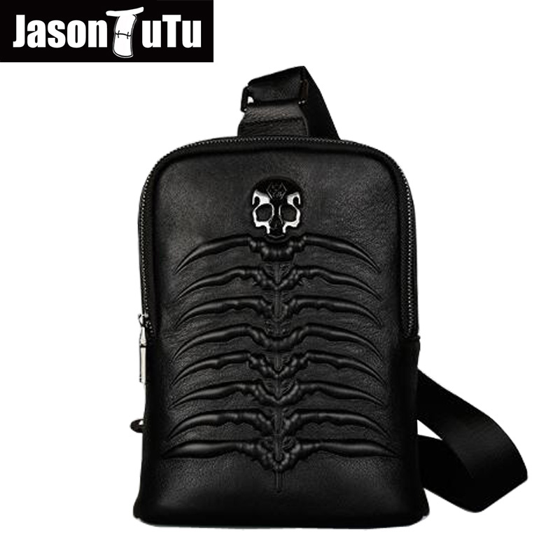 JASON TUTU New Listing messenger bag men leather casual men travel bags chest pack Genuine leather bag shoulder bag bolsos HN68 jason tutu genuine leather crossbody bag top quality vintage soft skin small bag 2017 casual men messenger bags hn241