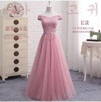Ensotek Women Ladies Slash Neck Long Lace Party Dress fro Pageant Wedding Bridal Summer Dress Maix Dress Prom Evening Gowns