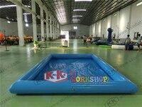 Inflable cuadrado cerrado sumidero pequeño parque acuático para niños venta directa de fábrica El tamaño puede ser personalizado modelado de forma