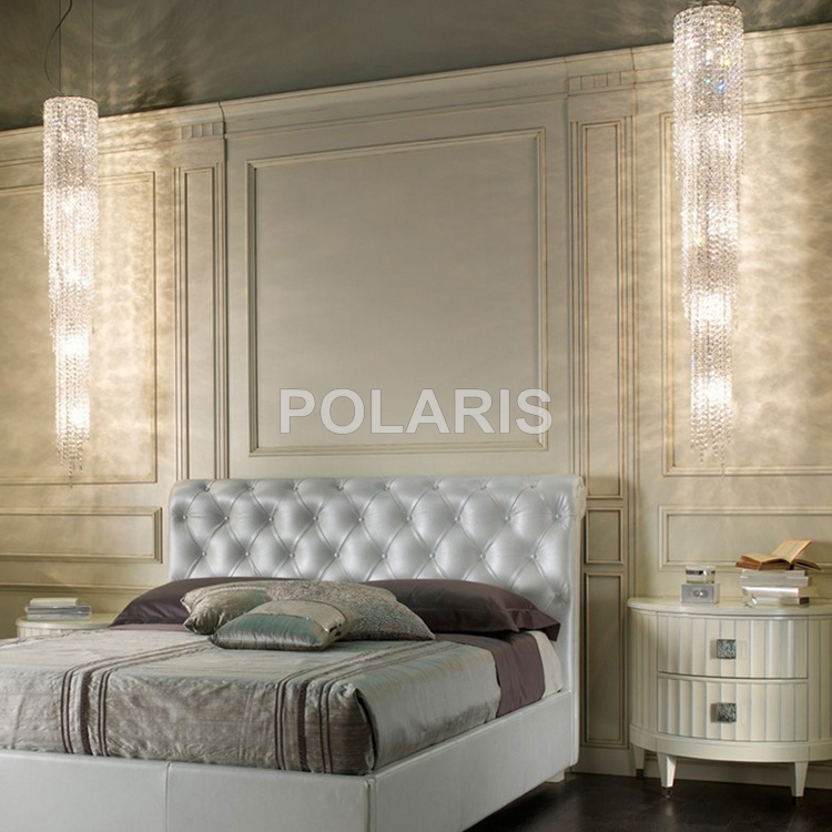 Современный роскошный светодиодный светильник, хрустальная люстра, большие подвесные светильники, хрустальные лампы для виллы, столовой и украшения отеля