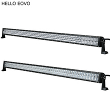 HELLO EOVO 4D 5D 52 Inch 500W LED Light Bar for Work Indicators Driving Offroad Boat Car Tractor Truck 4×4 SUV ATV 12V 24v