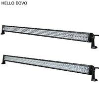 Hello eovo 4D 5D 52 дюймов 500 Вт светодиодный свет бар для работы индикаторы для вождения Offroad Лодка автомобиль тягач 4x4 внедорожник ATV 12 В 24 В