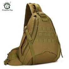 Protector PlusRucksack Freelander Lado Bolsas de Viaje de Gran Capacidad Mochila de Un Hombro Paquete Pecho Táctica Bolsa de Ordenador Portátil de 14 pulgadas