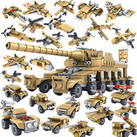 1/35 Plastic Vehicle Assembling Airplane Train Scale Tank Ship Model Kits Modeling DIY Toys for Children and Adults