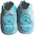 8 pares/lote 100% couro de sola macia sapatos de bebê primeiros walker dr0007-13