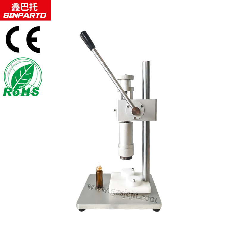 2018 Sinparto new Perfume cap crimping machine cap pressing machine perfume caping machine manual machine for