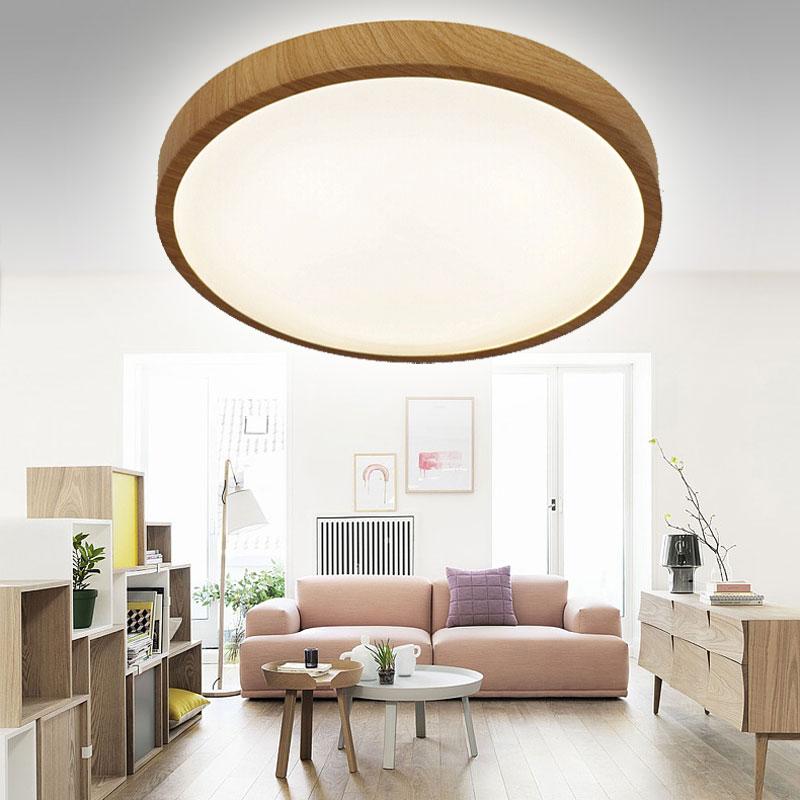 (35x35cm) Natural color, imitation wood grain led ceiling lamps, bedroom ceiling lamp, AC90-265V vintage wood grain color block flannel rug