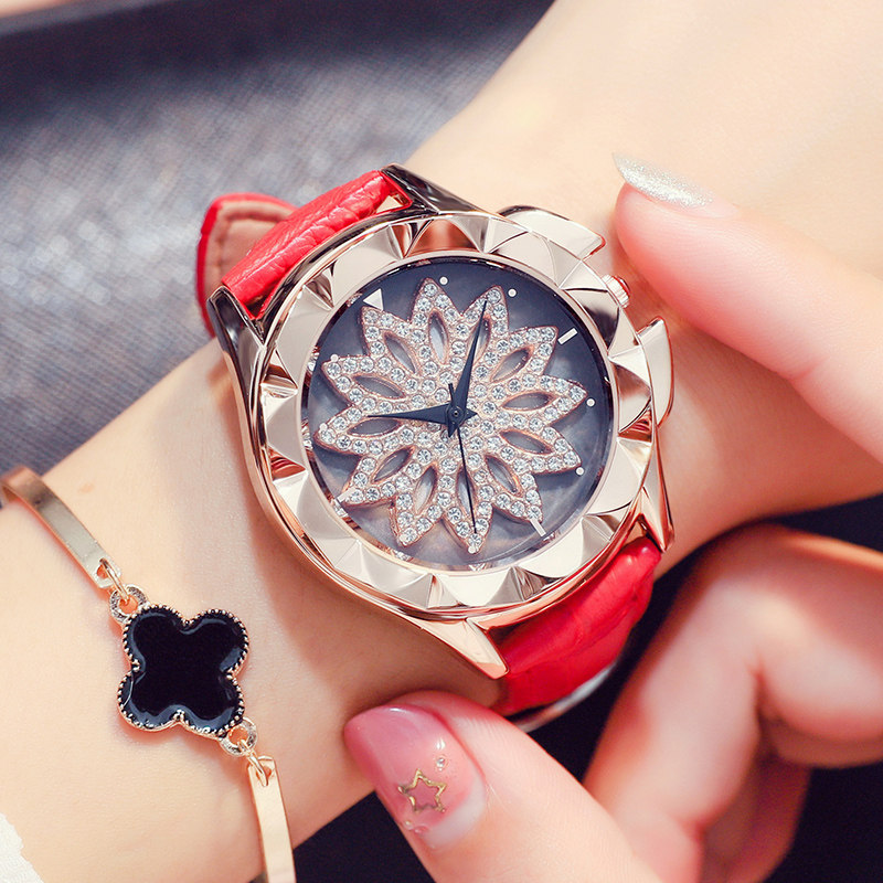 Women Watch Luxury Brand Casual Simple Quartz Clock For Women Leather Strap Wrist Watches Reloj Mujer Drop Shipping in Women 39 s Watches from Watches
