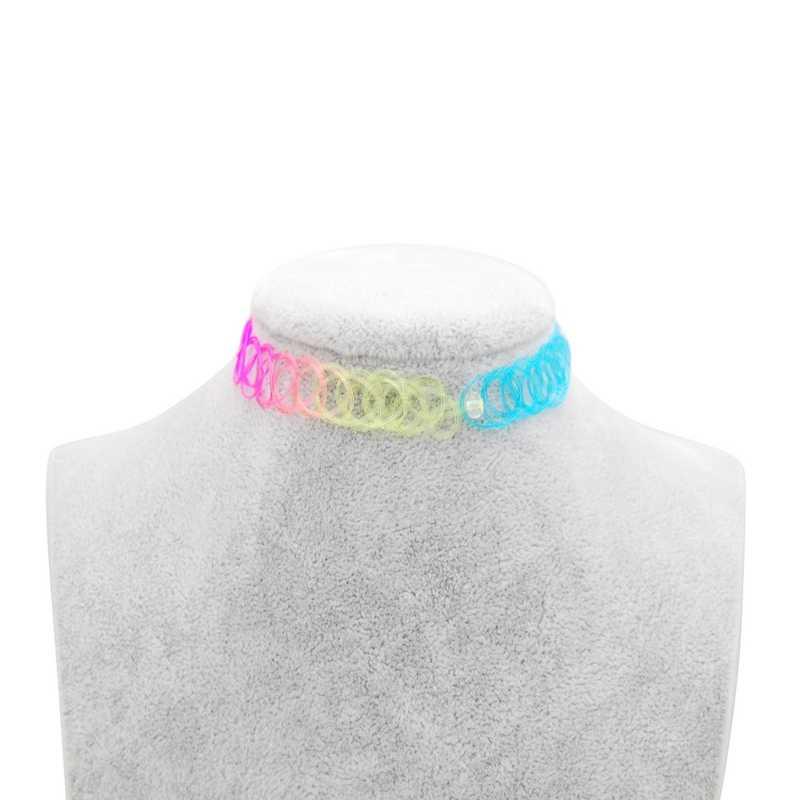 Heiße Neue Stretch Vintage Halsband Tattoo Halskette Für Frauen Mädchen Charme Punk Retro Gothic Elastische Halskette Weibliche Party Hochzeit Geschenk
