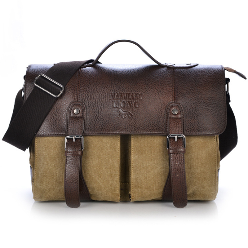 2019 Men Large Capacity Canvas Briefcase Travel Bags Practical Weekend Office Duffel Bag Women High Quality Business Laptop Bag