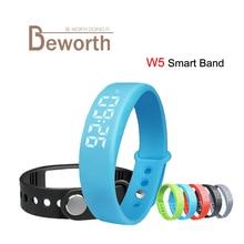 Smart Band W5 usb браслет 3D Шагомер сна трекер термометр Браслет фитнес-трекер калорий Спорт SmartBand часы V07