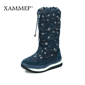 Image 3 - Womens Winter Shoes Knee High Boots Plus Big Size High Quality Brand Women Shoes Plush And Wool Women Winter Boots