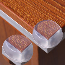 10pcs Child Baby Safety Soft PVC Protector Desk Table Corner Edge Guard Protection Cover Kids Spherical Collision Angle Security(China)