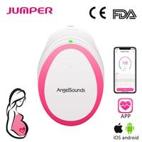 Angelsounds Portable Pocket Fetal Doppler Baby Sound Heartbeat Pregnant Doppler Prenatal Monitor 3MHz Household Health Care