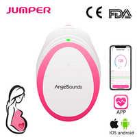 Angelsounds Portable Doppler Foetal de Poche Bébé Son Rythme Cardiaque Enceintes Doppler Prénatal Monitor 3MHz Soins de Santé à Domicile
