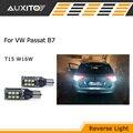 2x PARA VW Passat B7 lâmpada de backup luz reversa T15 W16W Canbus nenhum erro LED 3535 Chip de Alta Potência