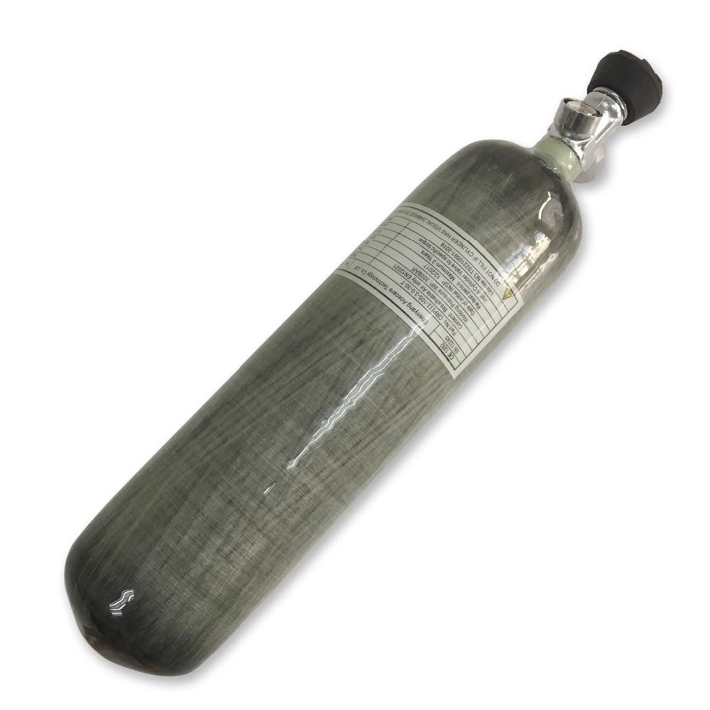 Ac10331 pcp tanque de ar 3l 4500psi 300bar mergulho mini rifle ar comprimido airsoft armas de ar paintball tanque para pistola de ar & válvula