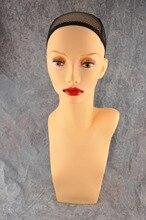 20.5 см пластик ПВХ манекен пенополистирол глава pzjg парик/Cap/Hat/ожерелье дисплей