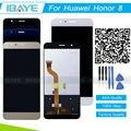 Для Huawei Honor 8 ЖК-Дисплей + Сенсорный Экран Планшета Ассамблея Для Honor 8 Замена Ремонт Часть