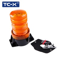 TC X LED Strobe Beacon Amber Light Car Mounted Car Styling Vehicle Police Warning Light LED