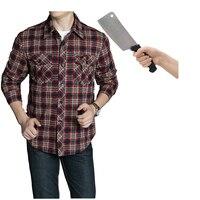 Self Defense Tactical SWAT POLICE Gear Anti Cut Knife Cut Resistant Shirt Anti Stab Proof Long
